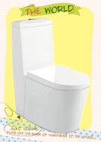 8094 big size P-trap , S-rap floor mounted industrial ceramic wc toilet sanitary
