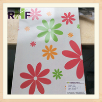 Glossy High Pressure Laminate with Flower Design/HPL board for Decoration