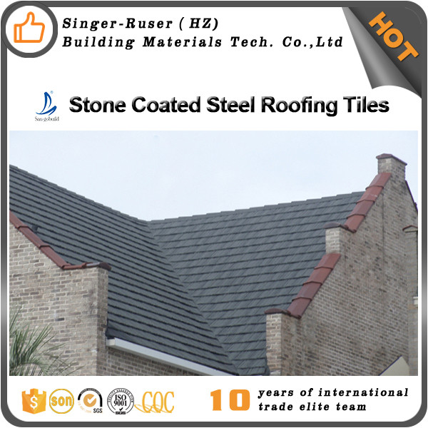 New Roofing Materials Made By Stone Coated Steel Roofing Manufacturers