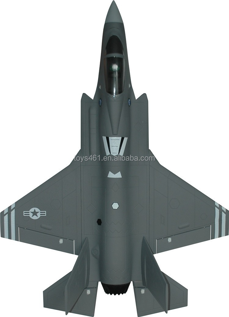 Famous Brand FMS 2015 new products F35 Rc Airplane radio controlled fighter ducted fan rc jets strike fighter fms model airplane