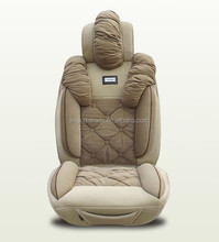Elastic Polyester and PVC car seat cover for all car