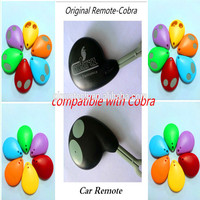 car alarm system, car alarm rolling code remote compatible with cobra 315mhz 433mhz
