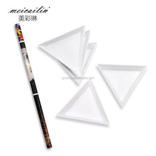 The new nail tools nail pen triangular set bright and delicate pen