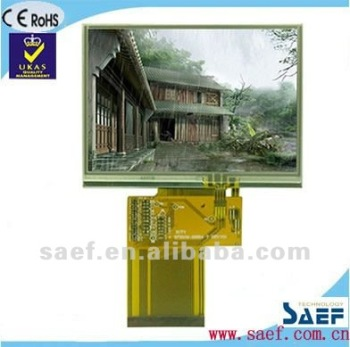 "3.5""inch 320*(RGB)*240 dots with Memory Video Intercom Color TFT LCD"