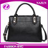 2016 latest style versatile design classical black PU leatherfashion western business women office bags shoulder bags