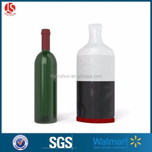 Wine Safeguard Reusable Single Bottle Protector PVC Winetrip Packing Bag With Logo China Cheap Wholesale