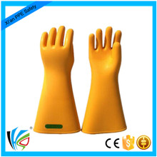 35KV Thick Rubber Insulating Electrical Safety Gloves