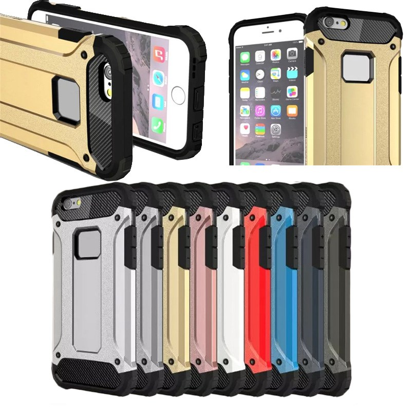 Hybrid PC + TPU Hard Armor Case for iPhone 6/6S,PC+TPU Protective Cover for iphone 6s