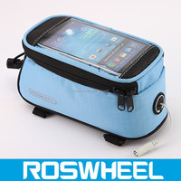 New Design high density 600 denier bicycle bag used a bicycle frame bag 12496L optical frame phone bag
