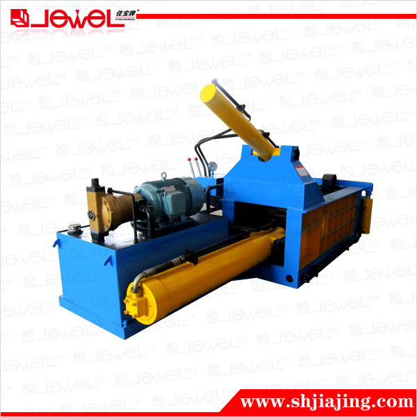 PLC automatic hydraulic recycling non-ferrous metal scrap balers machine