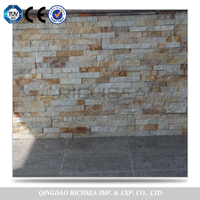 Delicate Quality Customer Size Multi Color Stacked Strip Culture Stone Slate Exterior Wall Cladding