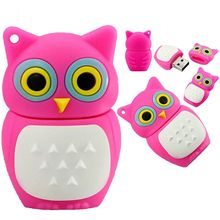 Pen Drive Cartoon Owl USB Flash Drive 4gb 8gb 16gb 32gb Flash Drive Disk Memory Stick 7 color