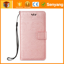100% factory sale Snap on PU Leather Holder Case For iPhone 5C