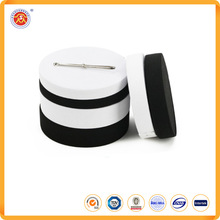 Manufacturers supply hot selling black and write style elastic webbing elastic tape