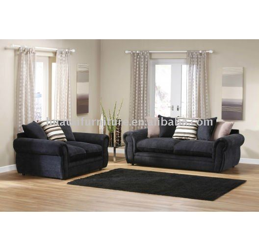 schwarze chesterfield sofa wohnzimmer sofa produkt id 474299533. Black Bedroom Furniture Sets. Home Design Ideas