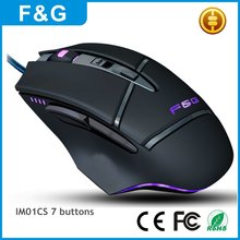 Newest 5v 100ma usb optical gaming mouse for pc laptop