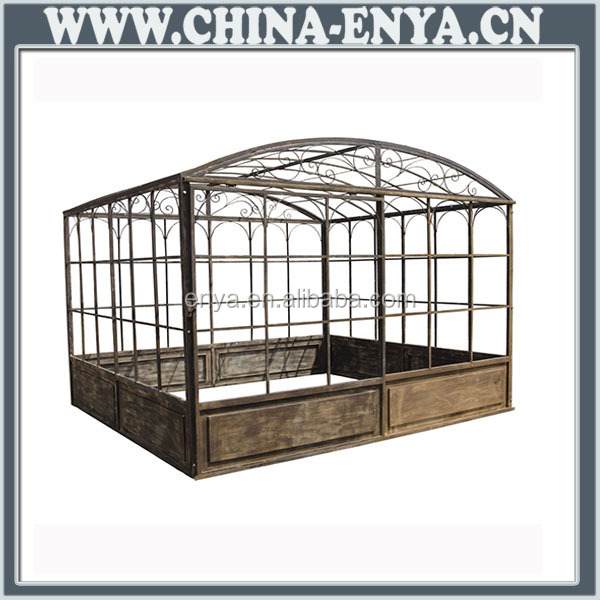 Steel fence posts/iron greenhouse/mini greenhouse