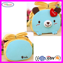 B496 Super Cute 3D Bear Design Backpack Cartoon Messenger Shoulder Bag Cross Strap Backpack