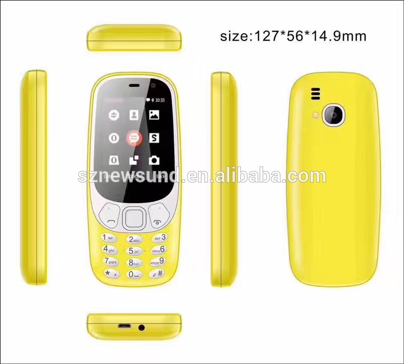 Cheap and high quality dual sim phone GPRS gsm mobile phone 3310 4 sim mobile phone