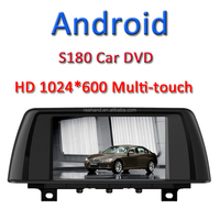 Finenav Newest S180 Android Car DVD for BMW 3 series 2014 with gps 1024*600 HD screen Samsung CPU standrad ROM built-in WIFI