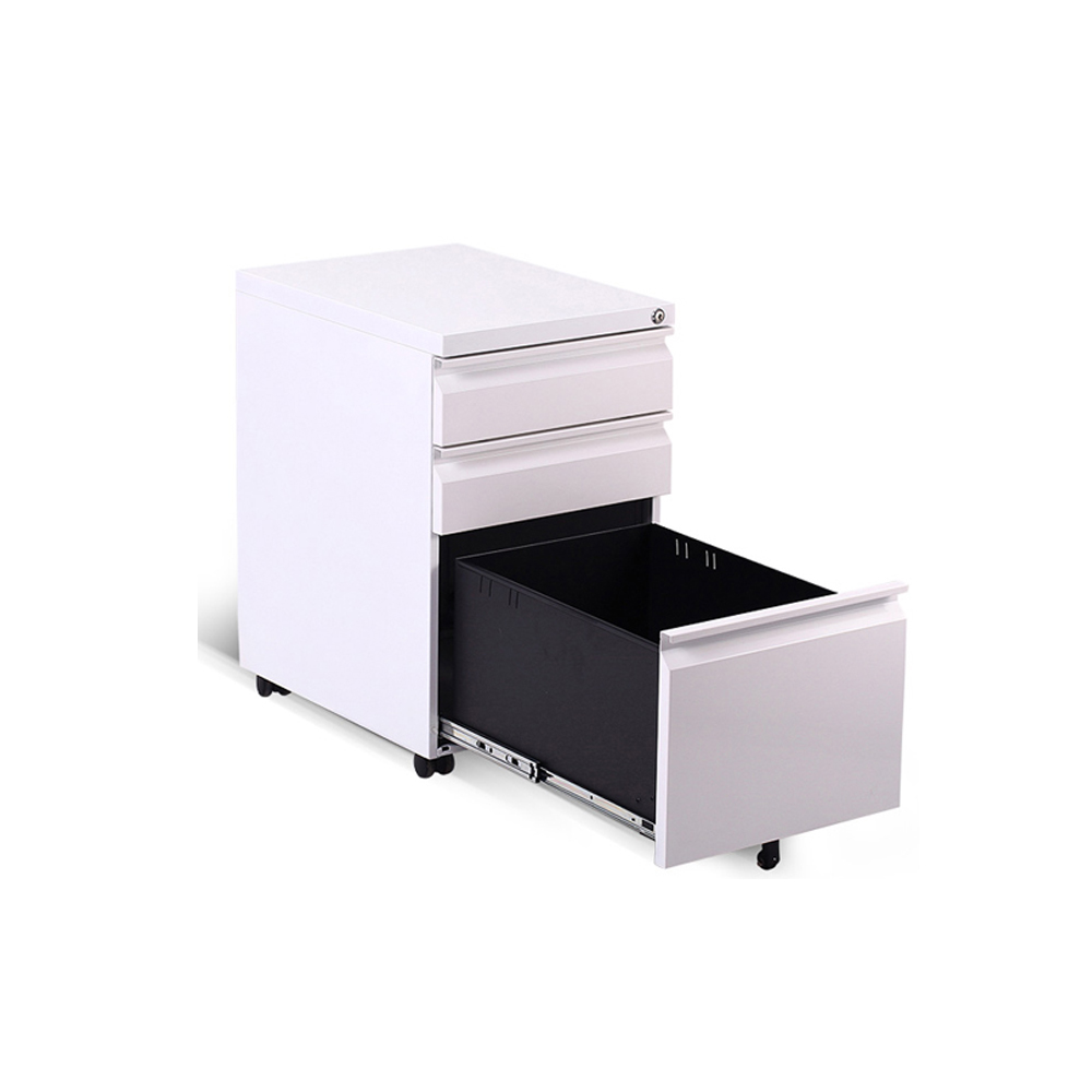 Office Steel Furniture Small 3 Drawer Metal File Cabinet