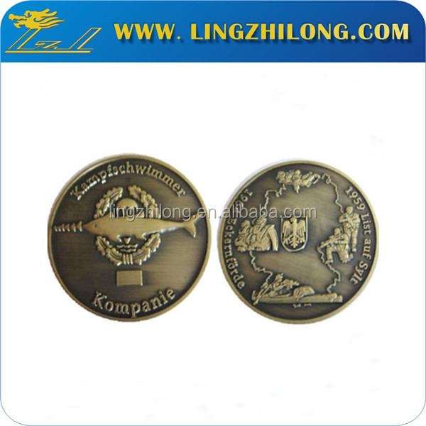 China supplier copies of coins