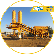 Factory price 35m3/h Mobile Concrete Batching Plant for sale