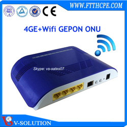 original manufacture Compatible with FIBER HOME 4GE+WIFI wireless Gigabit ONU Gepon