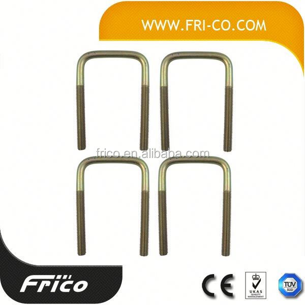 High Tension Stainless Steel Square U Bolt