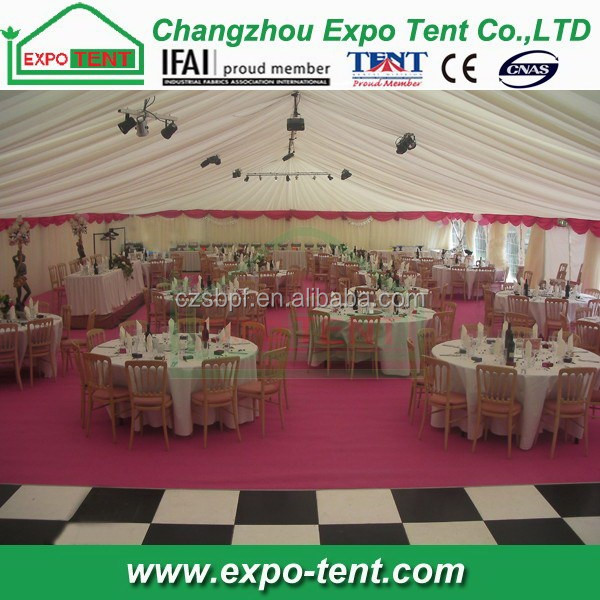 High grade hot-sale new style wedding tent draping