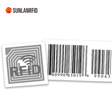 Promotion price 13.56Mhz HF logo printing RFID anti-fake security tag sticker with 3M adhesive(professional manufacturer)