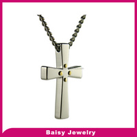China factory fashion Stainless Steel cross wholesale christian jewelry