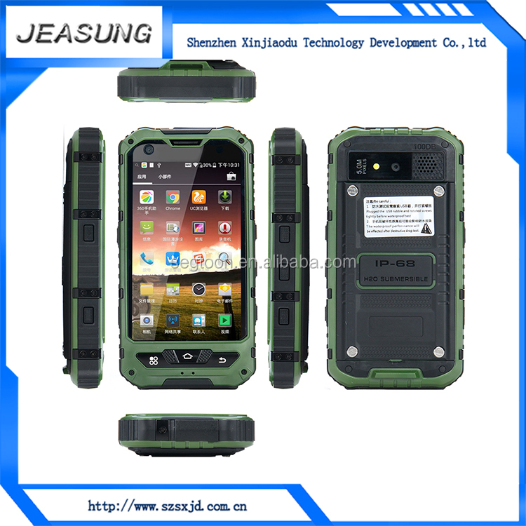 Jeasung A8 china cell phone cheapest waterproof 4 inch unlocked android smart phone