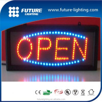 2016 Top quality hot sale flashing shining outdoor led open sign
