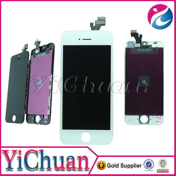 internal parts mobile phone for iphone 5 LCD