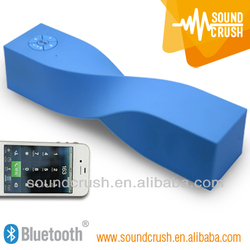 Compatible bluetooth car kit twisted speaker with a subwoofer wireless with NFC mini portable Bluetooth Speaker