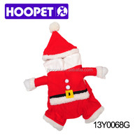 Warm red pet costume clothes dogs clothes and accessories manufacturers