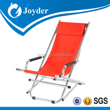 popular aluminum portable fold up beach rocking chair replacement parts
