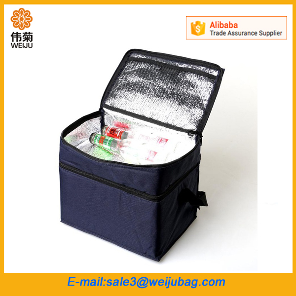 Double-Layer Isothermic Nylon Bags Wholesale Lunch Bag Insulated