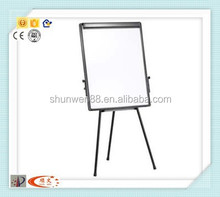 Popular adjustable mobile easel with wheel stand whiteboard