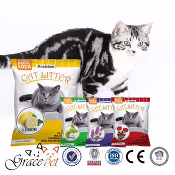 Natural clumping Bulk cat litter sand