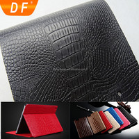 Elastic smoothness new arrival Crocodile leather for iPad Air Case
