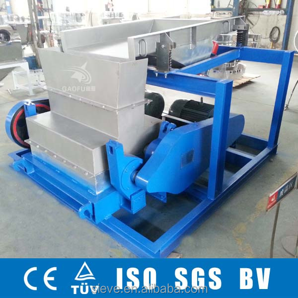 stainless steel salt crusher screener machine