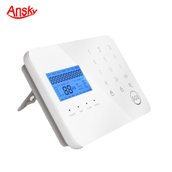 Bedroom And Balcony Cell Phone Display Retail Security System Alarm Sender Gsm Sms Remote Control System