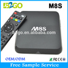 New Android tv box Amlogic S812 antenna wifi external Quad kodi android tv box 4k 2gb better than M10 M8