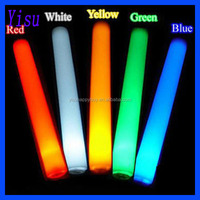 concert favor supply colorful lighted cheering party led foam glow stick