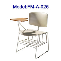 FM-A-025 Student chair with writing tablet