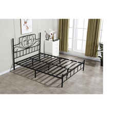 Professional Manufacture Cheap Modern Metal Iron Steel Wrought Double Queen King Adult Single Bed Frame Bedroom <strong>Furniture</strong>