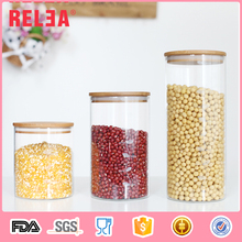 China wholesale glass candy storage jar bottle with different size