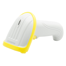 Free shipping battery chargeable handheld laser 1d wireless barcode scanner